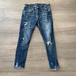 Zara - Men's Ripped Jeans